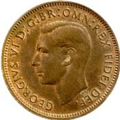 1937 to 1952 Farthing George VI From Fine to UNC